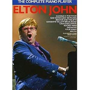 JOHN ELTON - THE COMPLETE PIANO PLAYER