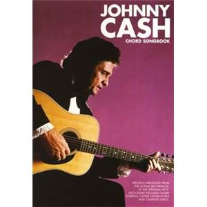 CASH JOHNNY - GUITAR CHORD SONGBOOK