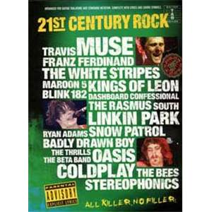 COMPILATION - 21ST CENTURY ROCK VOL.4 GUIT.TAB