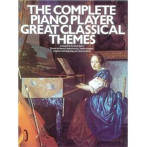 COMPILATION - COMPLETE PIANO PLAYER GREAT CLASSICAL THEMES