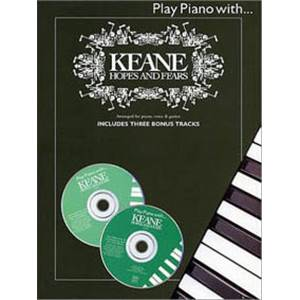 KEANE - PIANO WITH HOPES ET FEARS + 2CD