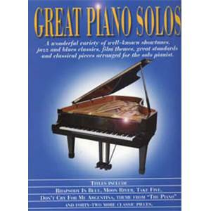 COMPILATION - GREAT PIANO SOLOS BLUE BOOK