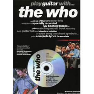 WHO THE - PLAY GUITAR WITH... + CD