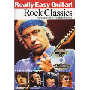 COMPILATION - REALLY EASY GUITAR ROCK CLASSICS + CD