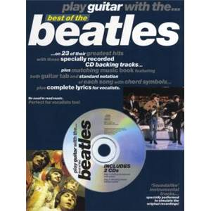 BEATLES THE - PLAY GUITAR WITH THE BEST OF + 2CD
