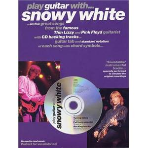 WHITE SNOWY - PLAY GUITAR WITH + CD