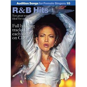 COMPILATION - AUDITION SONGS FOR FEMALE SINGERS : R&B HITS + CD