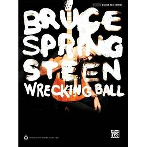SPRINGSTEEN BRUCE - WRECKING BALL GUITAR TAB.