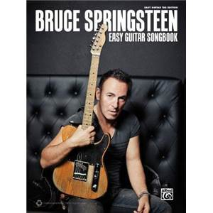 SPRINGSTEEN BRUCE - EASY GUITAR SONGBOOK GUITAR TAB.