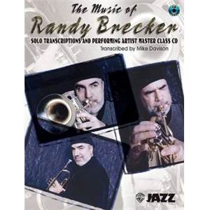 BRECKER RANDY - THE MUSIC OF RANDY BRECKER SOLO TRANSCRITPIONS + CD