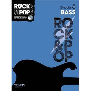 COMPILATION - TRINITY COLLEGE LONDON : ROCK & POP GRADE 5 FOR BASS + CD