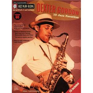 GORDON DEXTER - JAZZ PLAY ALONG VOL.060 + CD