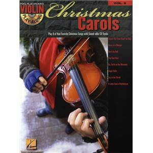 COMPILATION - VIOLIN PLAY ALONG VOL.005 CHRISTMAS CAROLS + CD