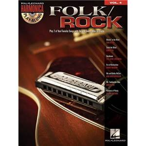 COMPILATION - HARMONICA PLAY ALONG VOL.4 FOLK / ROCK + CD