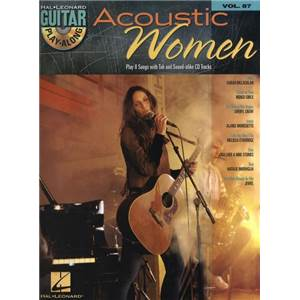 COMPILATION - GUITAR PLAY ALONG VOL.087 ACOUSTIC WOMEN + CD