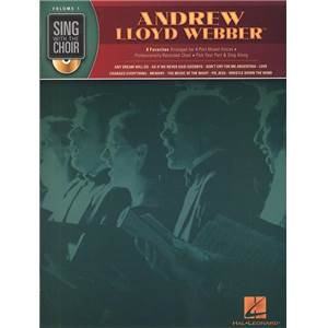 WEBBER ANDREW LLOYD - SING WITH THE CHOIR VOL.01 + CD