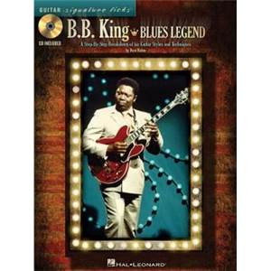 KING B.B. - SIGNATURE LICKS A BLUES LEGEND + CD