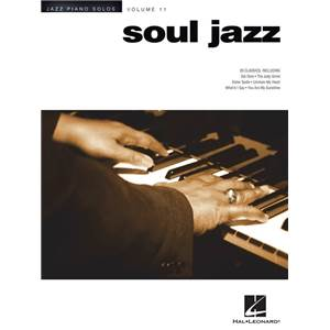 COMPILATION - JAZZ PIANO SOLOS VOL.11 : SOUL JAZZ