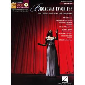 COMPILATION - PRO VOCAL FOR WOMEN SINGERS VOL.41 BROADWAY FAVOURITES + CD