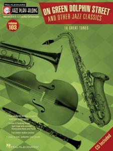 COMPILATION - JAZZ PLAY-ALONG VOL.103 ON GREEN DOLPHIN & OTHER JAZZ CLASSICS + CD