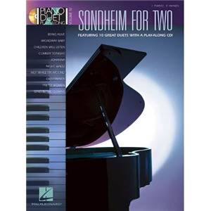 SONDHEIM S. - PIANO DUETS PLAY ALONG VOL.32 FOR TWO + CD