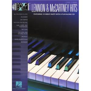 LENNON / MCCARTNEY - PIANO DUET PLAY ALONG VOL.39 HITS + CD