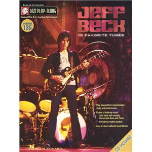 BECK JEFF - JAZZ PLAY ALONG VOL.135 + CD