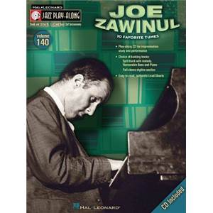 ZAWINUL JOE - JAZZ PLAY ALONG VOL.140 JOE ZAWINUL + CD
