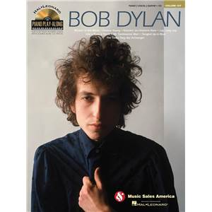 DYLAN BOB - PIANO PLAY ALONG VOL.107 + CD