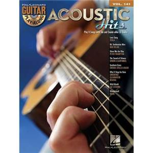 COMPILATION - GUITAR PLAY ALONG VOL.141 ACOUSTIC HITS + CD