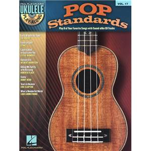 COMPILATION - UKULELE PLAY ALONG VOL.17 POP STANDARDS + CD