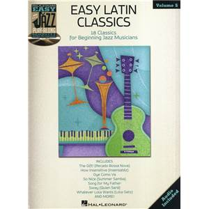 COMPILATION - EASY JAZZ PLAY ALONG VOL.5: EASY LATIN CLASSICS + CD