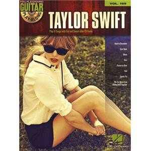 SWIFT TAYLOR - GUITAR PLAY ALONG VOL.169 + CD