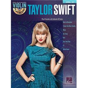 SWIFT TAYLOR - VIOLIN PLAY ALONG VOL.037 + CD