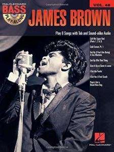 BROWN JAMES - BASS PLAY-ALONG VOL.48 + CD