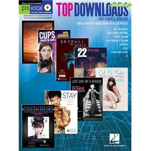 COMPILATION - TOP DOWNLOADS PRO VOCAL WOMEN'S EDITION VOL.62 + CD