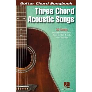 COMPILATION - GUITAR CHORD SONGBOOK 3 CHORD ACOUSTIC SONGS