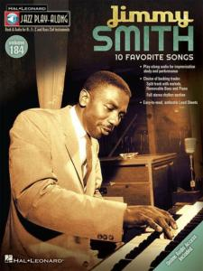 SMITH JIMMY - JAZZ PLAY-ALONG VOL.184 JIMMY SMITH + ONLINE AUDIO ACCESS