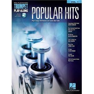 COMPILATION - TRUMPET PLAY-ALONG VOL.01 POPULAR HITS + AUDIO ACCESS