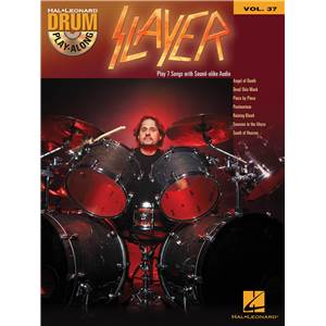 SLAYER - DRUM PLAY-ALONG VOL.37 + CD