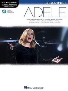 COMPILATION - INSTRUMENTAL PLAY-ALONG: ADELE CLARINET + ONLINE AUDIO ACCES