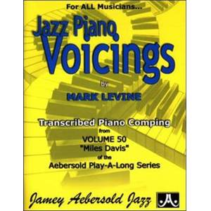 LEVINE MARK - AEBERSOLD 050 JAZZ PIANO VOICINGS