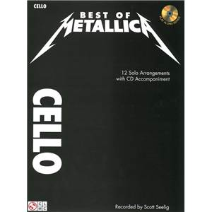 METALLICA - BEST OF POUR VIOLONCELLE + CD