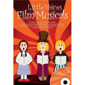 COMPILATION - LITTLE VOICES FILM MUSICALS + CD