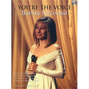 STREISAND BARBRA - YOU'RE THE VOICE + CD