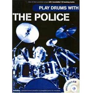 POLICE THE - PLAY DRUMS WITH + CD