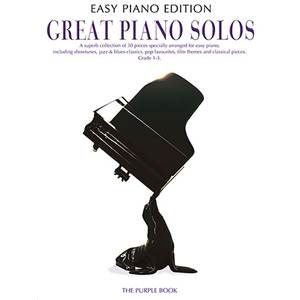 COMPILATION - GREAT PIANO SOLOS EASY PIANO PURPLE BOOK