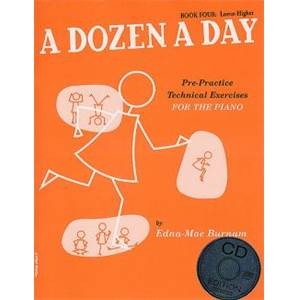 BURNAM EDNA MAE - A DOZEN A DAY VOL.4 + CD