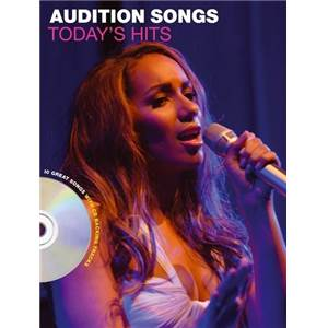 COMPILATION - AUDITION SONGS FOR FEMALE SINGERS : TODAY'S HITS + CD
