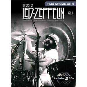 LED ZEPPELIN - BEST OF VOL.1 PLAY DRUMS WITH + CD